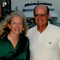 David Ronzani and his wife, Kathleen Riechers-Ronzani